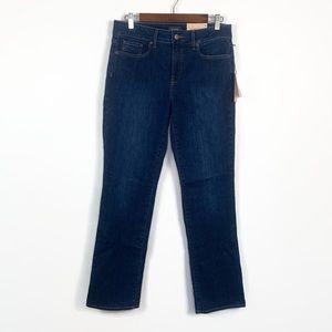 NWT NYDJ Marilyn Straight Jeans | 8